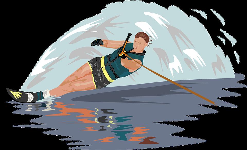 A la découverte des sports nautiques : Le ski nautique et le Skimboarding